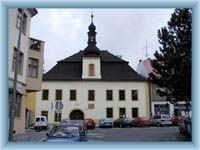 Nové Město n M. - old townhall