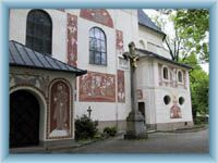 Nové Město n. M. - church