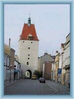 Town gate in Pelhřimov
