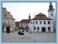 Pelhřimov - square