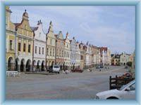 square in Telč