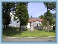 Castle park in Ždár nad Sázavou